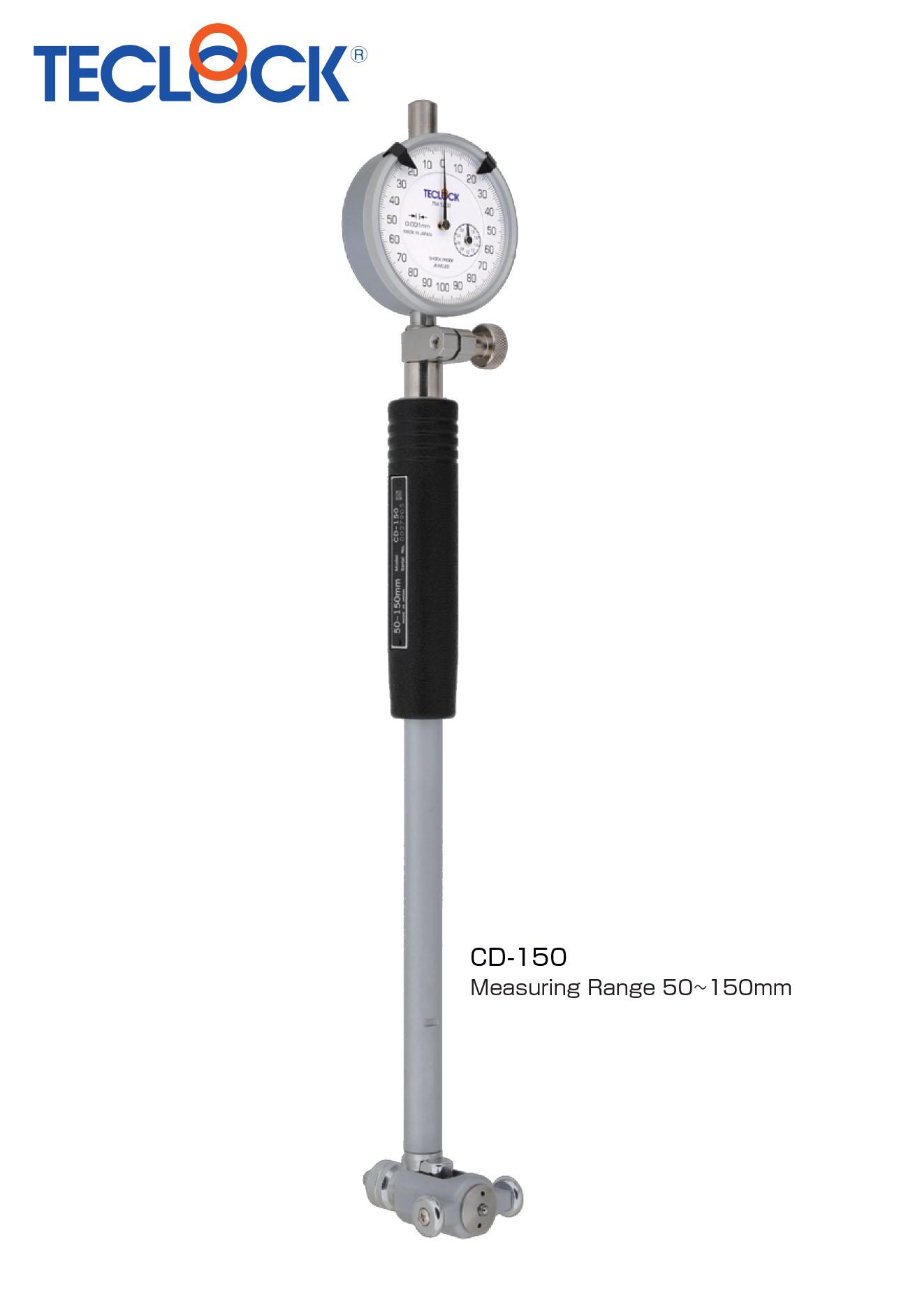 เกจวัดรูใน - Bore Gauge Standard type (CD-150) Teclock