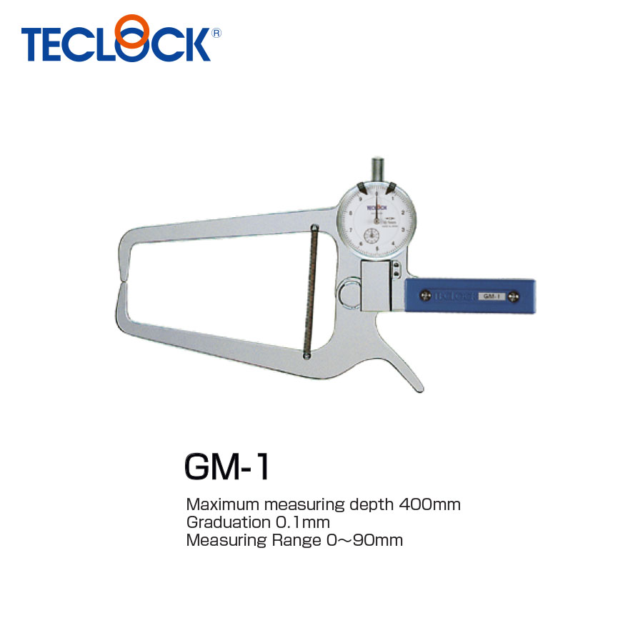 ไดอัลคาลิปเปอร์เกจวัดนอก - External Dial Caliper Gauges (GM-1) Teclock