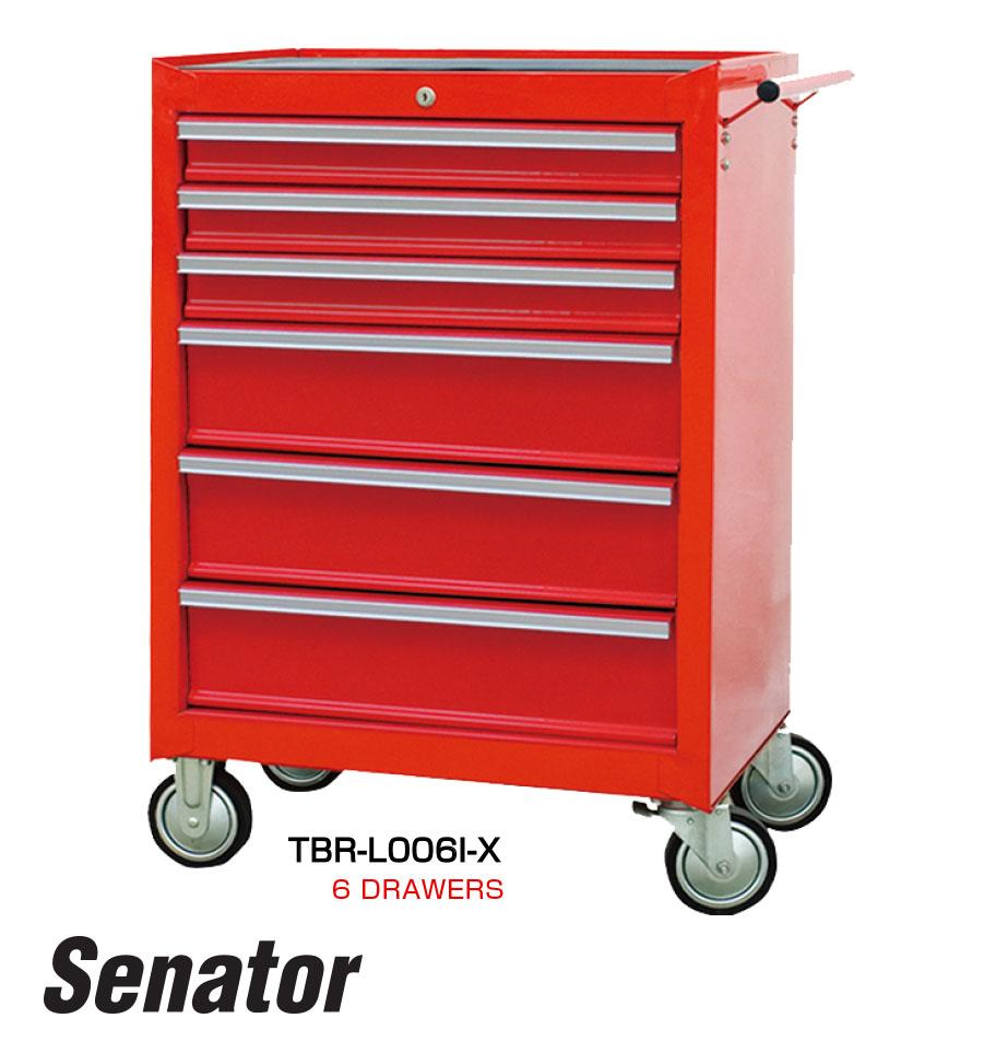 รถเข็นเก็บเครื่องมือ 6 ลิ้นชัก / 6 Drawers Tool Trolley (Senator)
