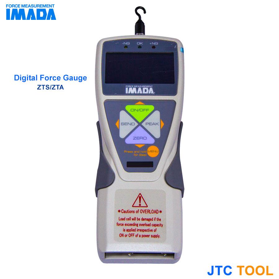 เกจวัดแรงดึง-ดัน ดิจิตอล - Digital Force Gauge (ZTA/ZTS) IMADA