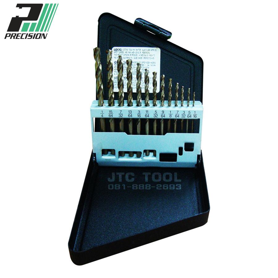ชุดดอกสว่านแบบโคบอลไฮสปีด / Drill set HSS-Cobalt (99944) Precision