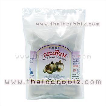ยาแคปซูลกระเทียม สมุนไพรดวงพร (ถุง)