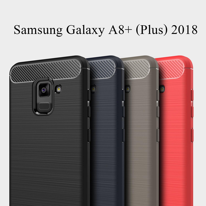 เคส Samsung Galaxy A8+ (Plus) 2018 แบบ TPU กันกระแทก