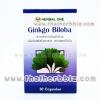 จิงโกะ ไบโลบา สารสกัดจากใบแปะก๊วย อ้วยอันโอสถ เฮอร์บัลวัน (30 แคปซูล แบบกล่อง) Herbal One