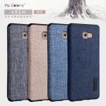 เคส Samsung Galaxy C9 Pro แบบ TPU+ผ้า จาก Mycolors