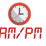 เวลาเปลี่ยนเป็น am pm ตอนส่งข้อมูลออก excel