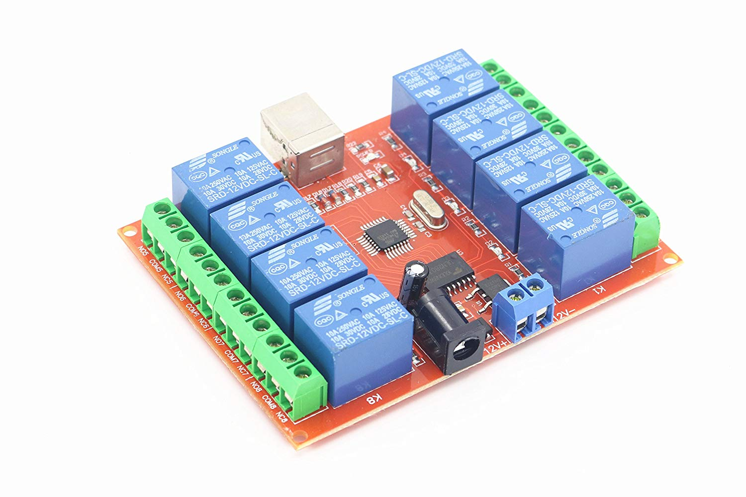 DC 5V 1 Channel USB Relay Module Programmable Computer PC Smart